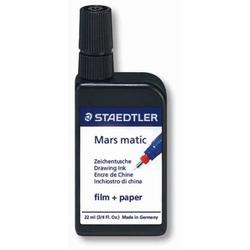 Zeichentusche Mars matic für Papier und Folie 22 ml schwarz