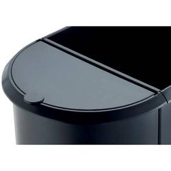 Deckel für Duo-Papierkorb schwarz
