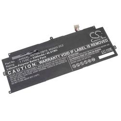 vhbw Akku passend für HP Spectre x2 Detachable, x2 Detachable 12, x2 Detachable 12t Notebook (5300mAh, 7.7V, Li-Polymer, schwarz)
