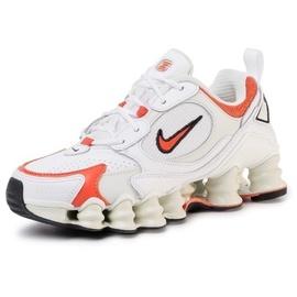 Nike Women's Shox TL Nova white/spruce aura/black/team orange 38