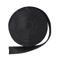 Polaris - Gurtband 5cm - steif - schwarz - 1 Meter