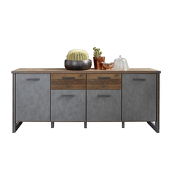 Trendteam Sideboard Prime in Oldwood/Matera-Optik