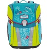 Scout Scout Basic Schulranzen DIN Sunny Happy Dolphins 467 happy dolphins