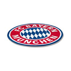 Teppich Teppich FC Bayern München, Logo, 100 x 100 cm, FC Bayern München
