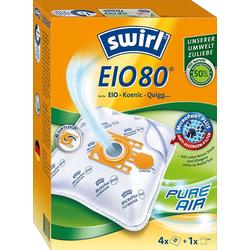 Swirl Staubsaugerbeutel EIO 80 für EIO, Koenic und Quigg, passend für EIO, Koenic und Quigg, 5 Stück