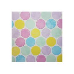 STAR Geschenkpapier, Geschenkpapier Punkte / Kreise 70cm x 2m, Rolle