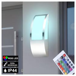 etc-shop Wandleuchte, Lampe Außenlampe Wandlampe RGB LED Lampe IP44 Leuchte