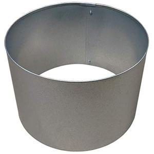 Rasenkanten Baumring Kreis aus Metall durchm. 37 cm x 25 cm - 1er Set