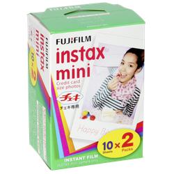 1x2 Fujifilm instax mini Film