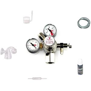 Hiwi CO2 Anlage 425 Profi ohne Flasche z.B. für Sodastream Zylinder o.a. Aquarium Komplettanlage ohne Flasche ohne Magnetventil