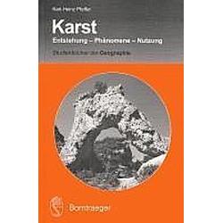 Karst. Karl-Heinz Pfeffer  - Buch