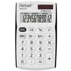 Rebell SHC312 BK Taschenrechner