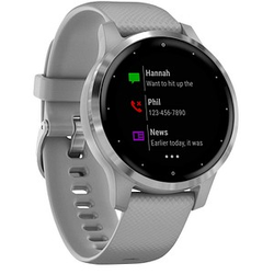 GARMIN vivoactive 4s Smartwatch grau