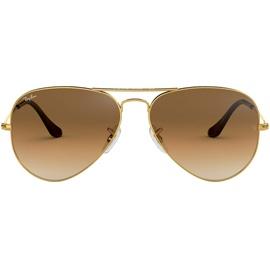 Ray Ban Aviator RB3025 001/51 55-14 polished gold/light brown