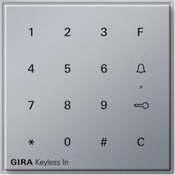 Gira 260565, Gira Keyless In Codetastatur Gira TX_44 (WG UP) F Alu