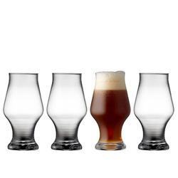 Lyngby Glas Bierglas Dunkles Bier 57cl 4-Pack
