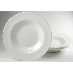 Luminarc Pastateller, (6 Stück), Glas weiß