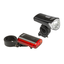 Fahrradlampen-Set LED-Akku Atlas K11