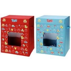 Spielzeugkiste 83L - Spielkiste Aufbewahrungsbox Spielzeugtruhe 44x34x56cm