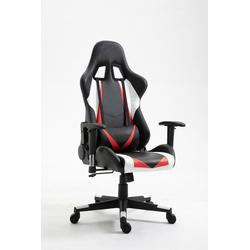 Happy Home Gaming Chair HappyHome Gaming Sessel schwarz-rot Gamingstuhl Bürostuhl Bürodrehstuhl Stuhl