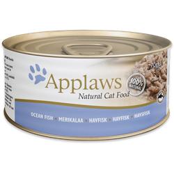 Applaws Seefisch Katzenfutter Nassfutter (6 x 0,07 kg)