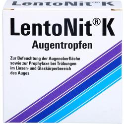 LENTO NIT K Augentropfen 30 ml