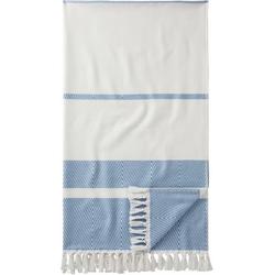Egeria Hamamtuch 1555HTPESTEMAH (1-St), mit Muster blau