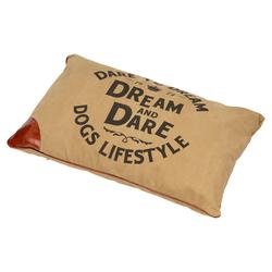 D&D Hundekissen Lifestyle Petbed Dream raw-sienna