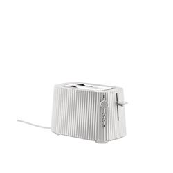 Alessi Elektrische Toaster Plissé weiß