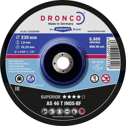 Dronco 1233250100 Trennscheibe gekröpft 1 Stück 1St.
