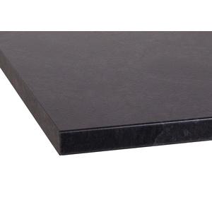 OPTIFIT Arbeitsplatte Luzern, 38 mm stark schwarz Zubehör Küchenmöbel Küche Ordnung