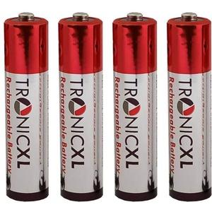 TronicXL 4 Stück Akkus AAA Akku zb kompatibel mit Swissvoice Avena 357 578 Eurit 557 748 758 Duo Aeris 126 126T 134 134T 214 214T 248 248T Aton CLT-101 schnurlos Telefon schnurloses