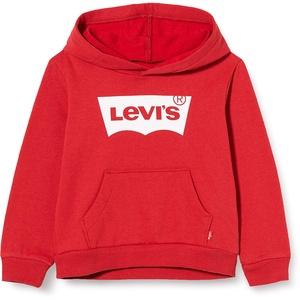 Levi's Kids Jungen Pullover Lvb Batwing Screenprint Hoodie Levis Red/ White 8 Jahre