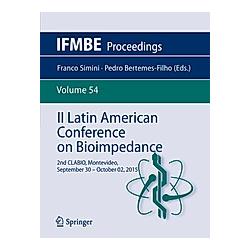 II Latin American Conference on Bioimpedance - Buch