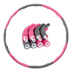 PRECORN Hula-Hoop-Reifen Hula Hoop Reifen D 96 cm Fitness Reifen zur Gewichtsreduktion Hoola Hup Reifen für Erwachsene & Kinder