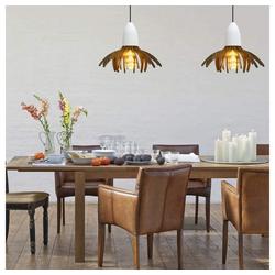 ZMH LED Pendelleuchte aus Beton Betonlampe Retro Pendellampe Hängeleuchte Deckenleuchte für Wohnzimmerlampe Restaurant Bar Flur Cafe Esstischlampe