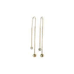 Pilgrim Damen Ohrringe gold, Größe One Size, 4554214