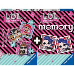 Ravensburger Puzzle LOL Surprise Multipack - Puzzle + memory®, Puzzleteile
