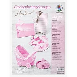 "Ursus Papier-Set Geschenkverpackungen ""Pauline"", für 7 Verpackungen"
