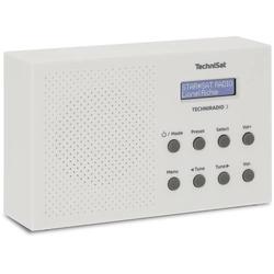 TechniSat Techniradio 3 Kofferradio DAB+, UKW Weiß