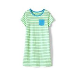 Shirtkleid - 128/134 - Grün