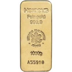 1.000 Gramm Goldbarren