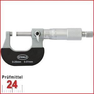 STEINLE Bügelmessschraube 0 - 25 mm DIN 863 Typ: 2130 Aktionspreis gültig bis 30.09.2020