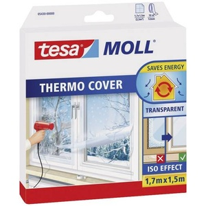 TESA 05430-00 05430-00 Isolierfolie tesamoll® thermo Cover Transparent (L x B) 1.7m x 1.5m 1 Rolle(