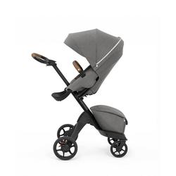 Stokke Sport-Kinderwagen Xplory® X - Multifunktions-Kinderwagen mit schützenden, ergonomischen Sitz grau