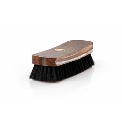 Solitaire Schuhputzbürste Polierbürste, Ideal für die Politur hochwertiger Schuhe schwarz