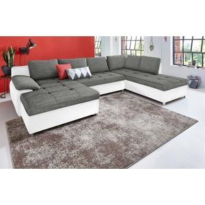 sit&more Wohnlandschaft Labene, XXL, wahlweise mit Bettfunktion und Bettkasten weiß Wohnlandschaften Sofas Couches