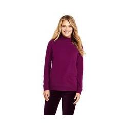 Sweatshirt mit Rollkragen - XS - Rot