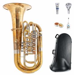 Lechgold FT-15/6R F-Tuba unbehandelt Deluxe Set