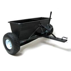 Anhänger Streuwagen SW 105 Düngerstreuer Salzstreuer für Rasentraktor 80 L